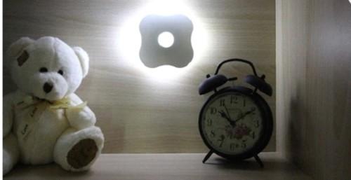 Варианты размещения светильника