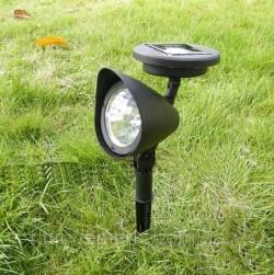 Садовый светильник с солнечной батареей