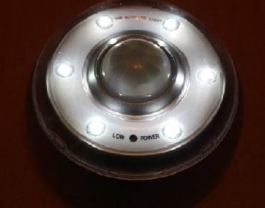 Светильник с шестью светодиодами