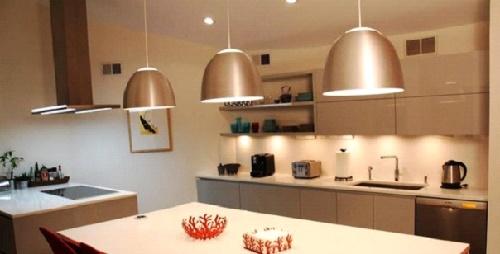 Точечные светильники под освещение кухни