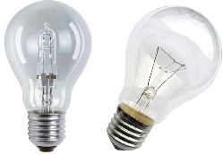 Лампа с внешней колбой