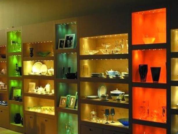 Светодиодная подсветка полок в шкафу своими руками