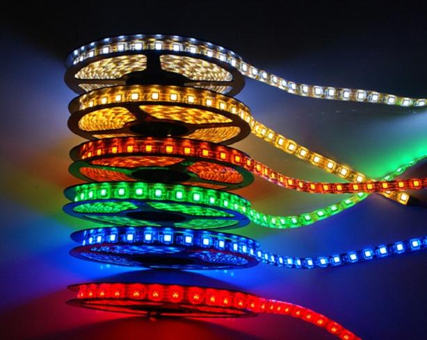 Светодиодные ленты разных цветов