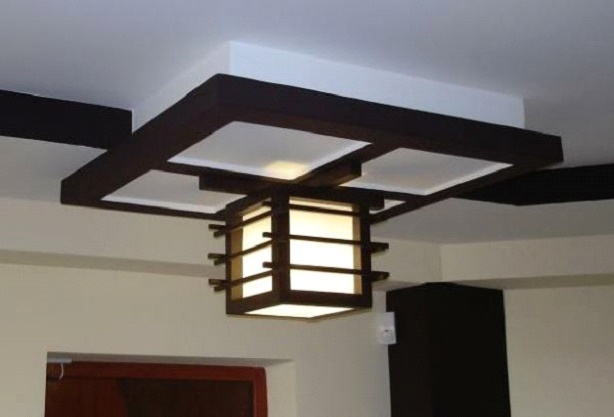 Японский светильники своими руками