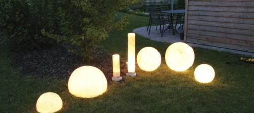 Ландшафтрые варианты светильников