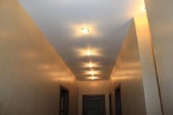 Освещение гипсокартонного потолка