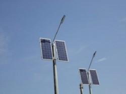 Фонари с солнечным батареями