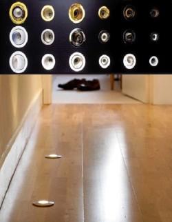 Светильники в полу
