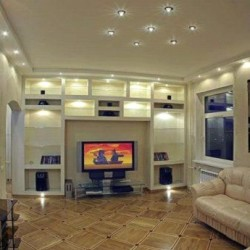 Освещение в гостевой комнате