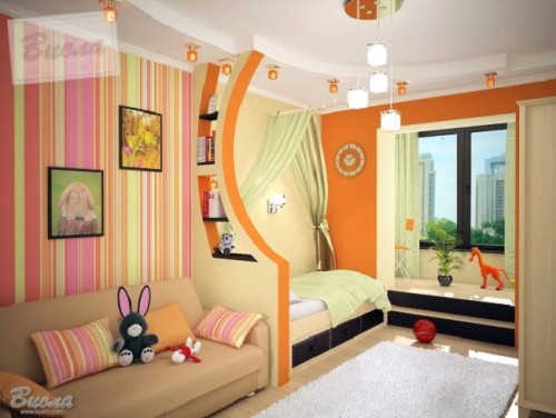 Две комнаты в одной