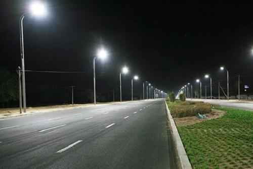 Освещение магистрали