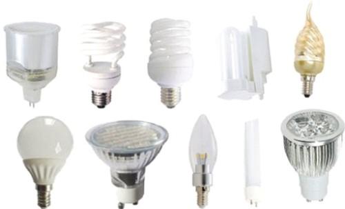 Разнообразие выбора ламп
