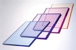 Разноцветные акриловые стекла