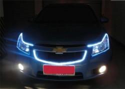 Светодиодная лента на автомобиле