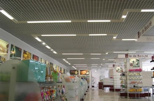 Потолочный вариант освещения