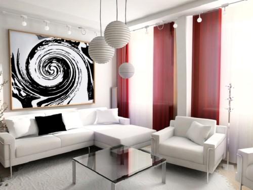 Комнта в стиле модерн