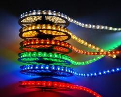 Ленты разных цветов