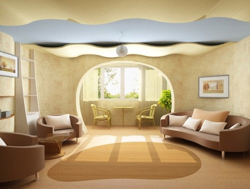 Нормы освещения в жилых комнатах