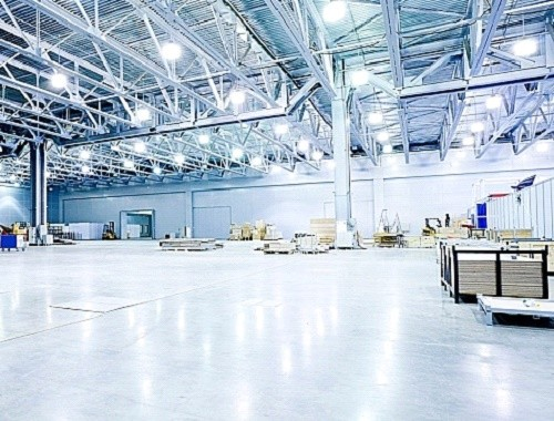 Вариант освещения на складе