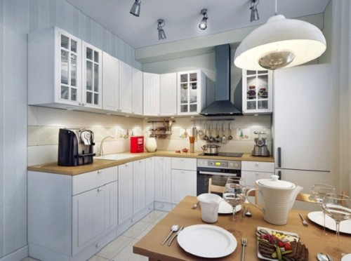 Лампа на кухне