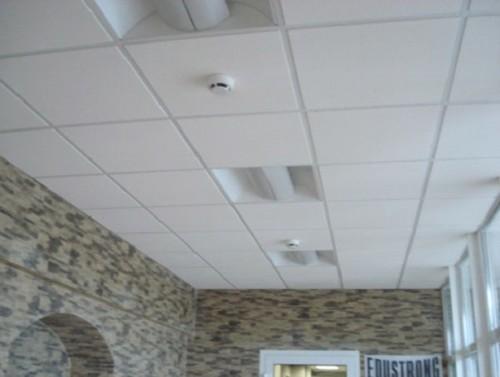 Применение в подвесном потолке