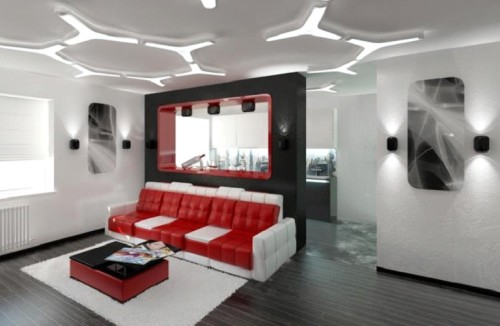 Плоские люстры на потолок