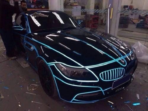Тюнинованый автомобиль