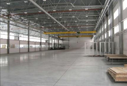 Освещение на складе