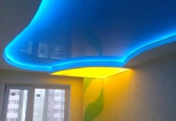 Освещение потолка