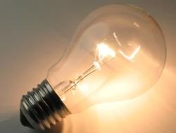 Обычная лампочка