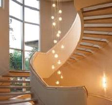 Декорирование лестницы