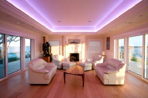 Подсветка зала