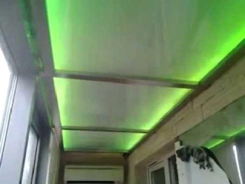 Светодиодное освещение балкона