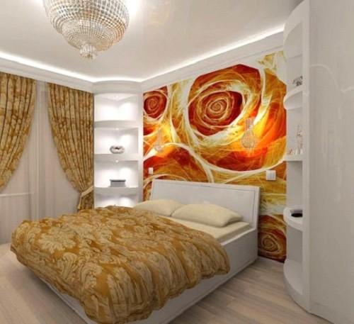 Направленный свет в комнате