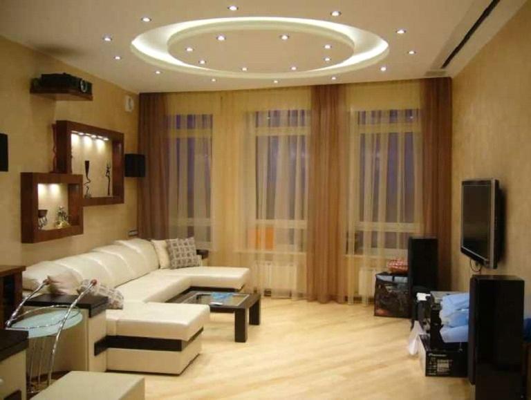 Ремонт комнаты гостиной своими руками