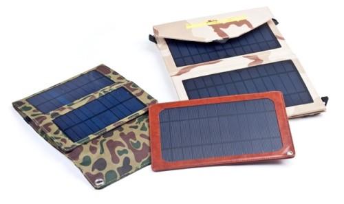 Разнообразие зарядок на солнечных батареях