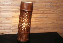 Бамбуковый светильник