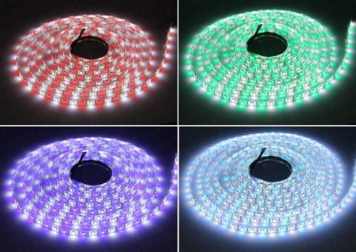 Варианты цветов светодиодных лент