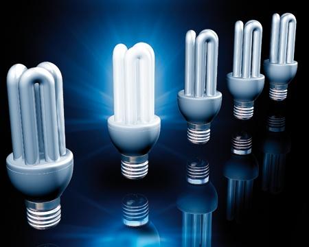 Люминесцентные лампочки