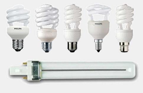Варианты люминесцентных ламп