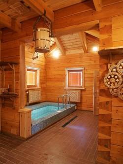 Подсветка помещения с бассейном