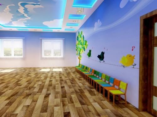 Подсветка комнаты группы