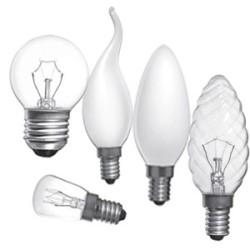 Варианты ламп накаливания