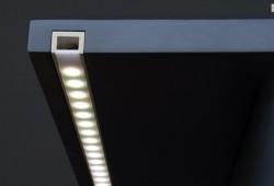 Вмонтированный светодиодный профиль