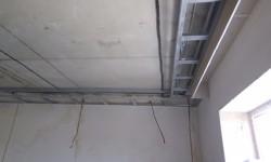 Каркас ниши на потолке