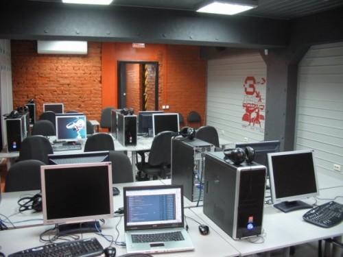 Компьютеры в помещении