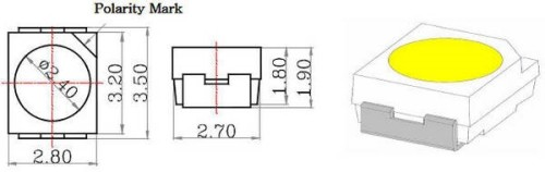 Чип для MD 3528