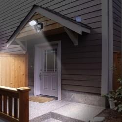 Размещение прибора на входе в дом