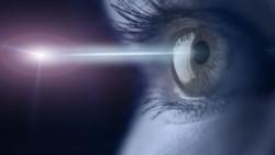 Падение света на глаз