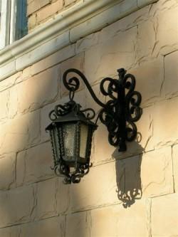 Светильник в старинном стиле